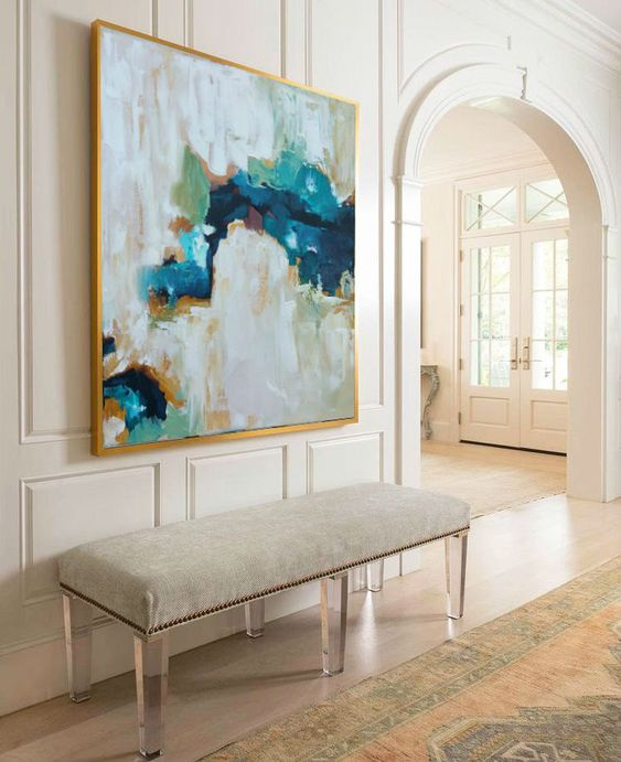 Large Art For Foyer : Entryway artwork ideas to make an impression digsdigs