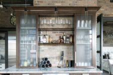 mind-blowing home bar design