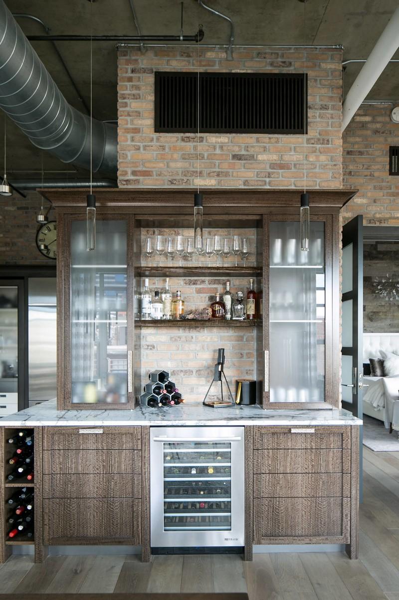mind blowing home bar design
