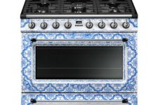 06 Or rock such a fantastic blue printed cooker