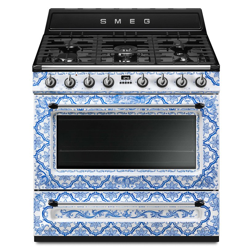 Or rock such a fantastic blue printed cooker