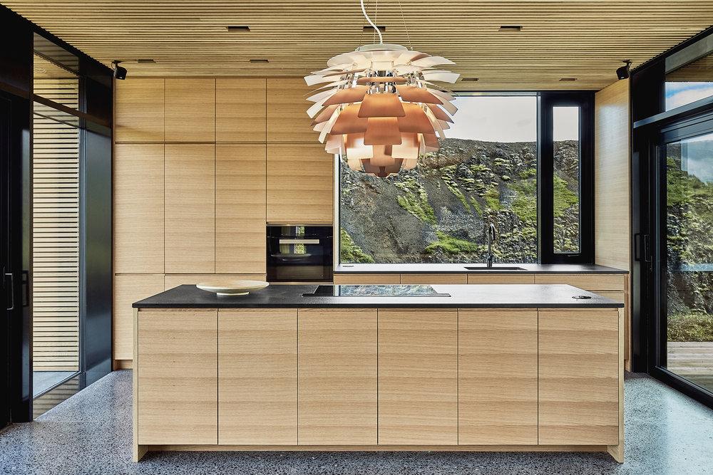 light wood kitchen design