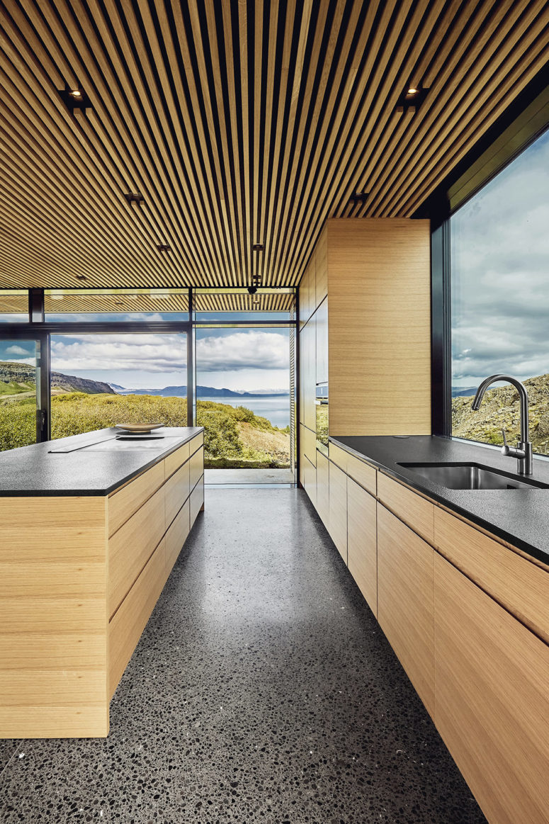 Stunning natural views are amazing and can be seen from every point of the house