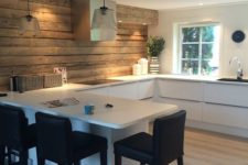 stylish kitchen design in Scandinavian style