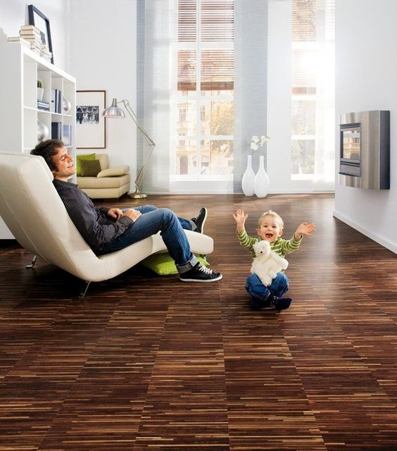 cork floors are ideal for kids, they are eco-friendly, healthy, warm and soft plus durable