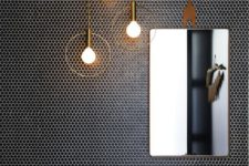 21 trendy black penny tiles with white grout to stand out plus gorgeous pendant lights
