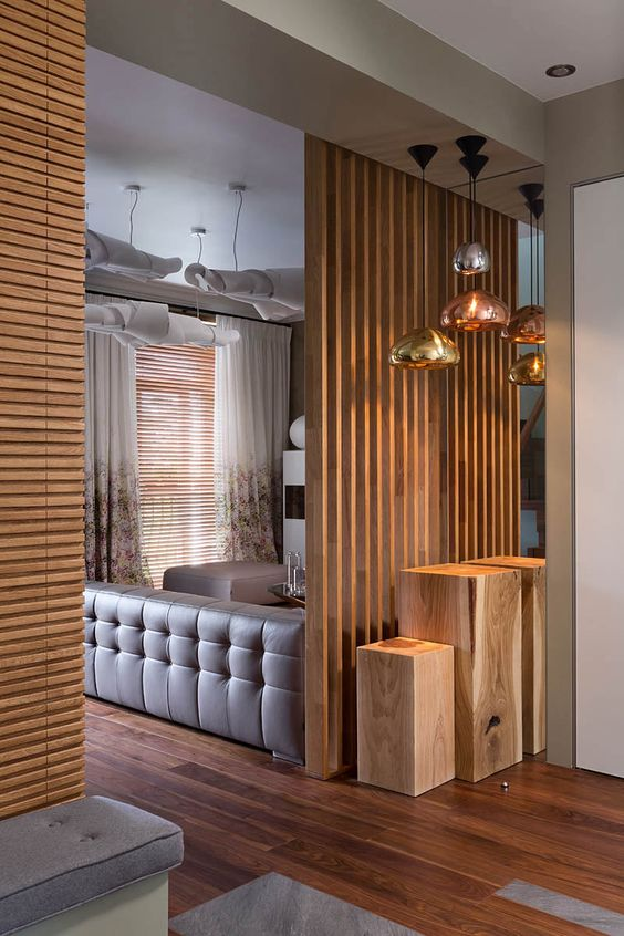 25 Wooden Screen Space Dividers For A Cozy Touch Digsdigs