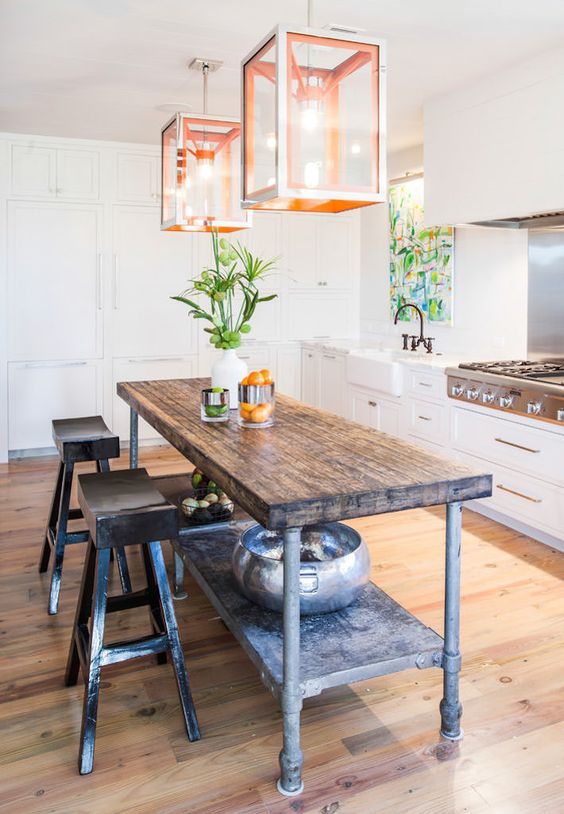 25 Industrial Kitchen Islands To Make A Statement  Digsdigs. Country Kitchen Oxford Nc. Kitchen Countertops How To Install. Ultra Living Kitchen And Bath. Paint Kitchen Light Blue. Grey Kitchen Accent Colors. Kitchen Ideas Above Cabinets. Kitchen Bench Montreal. Tiny Kitchen Window