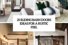 25 sliding barn doors ideas for a rustic feel cover