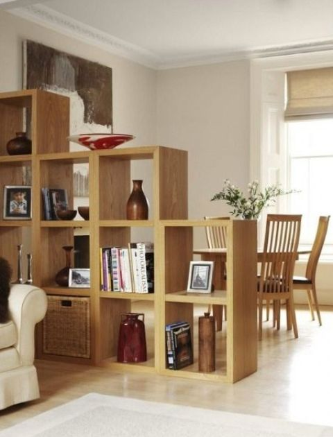 staircase-like shelf modules allow you a comfy see-through storage space and you can change configurations any time