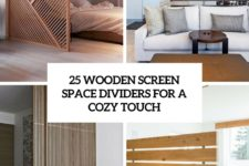 25 wooden screen space dividers for a cozy touch cover
