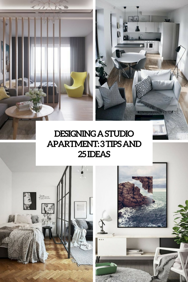Captivating Desinging A Studio Apartment 3 Tips And 25 Ideas Cover