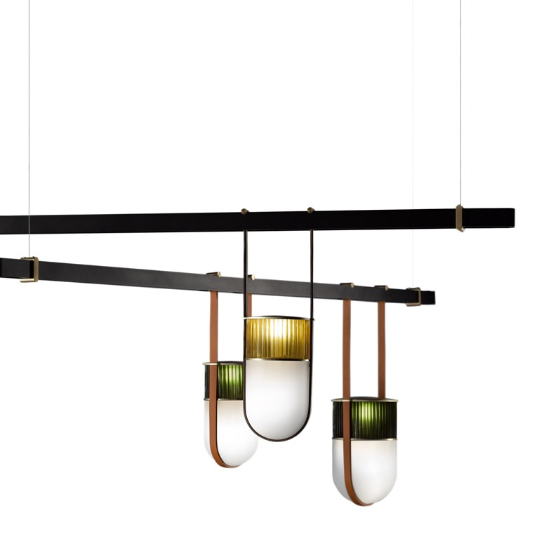 Xi lamp collction is inspired by early morning light, which is soft and delicate