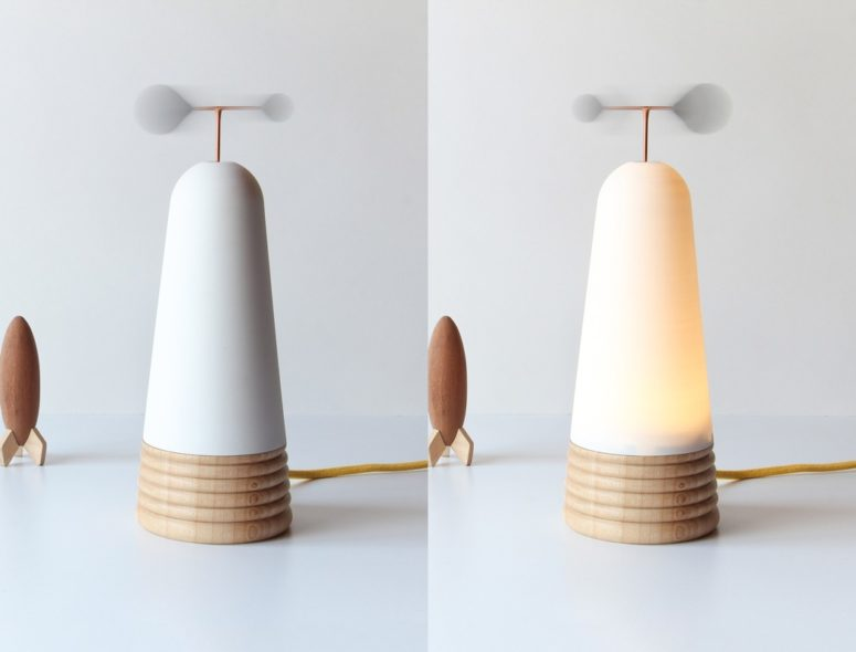 lamp that add coziness to the interior