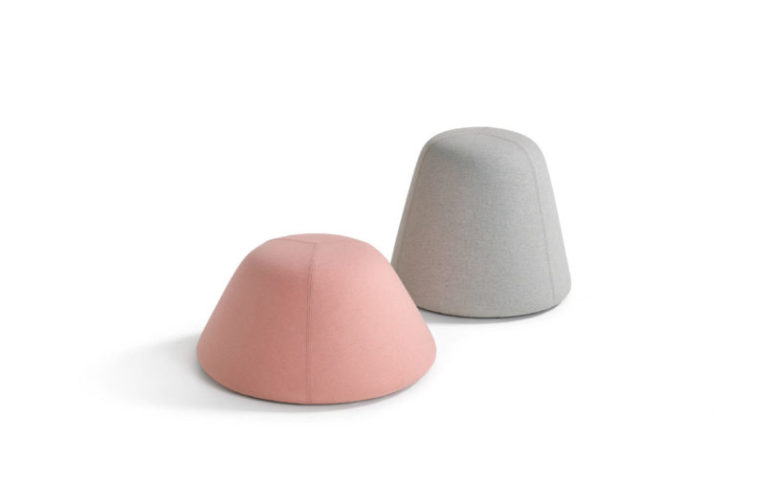 Use these poufs without any tops - they are cute and functional and are suitable for any home or office
