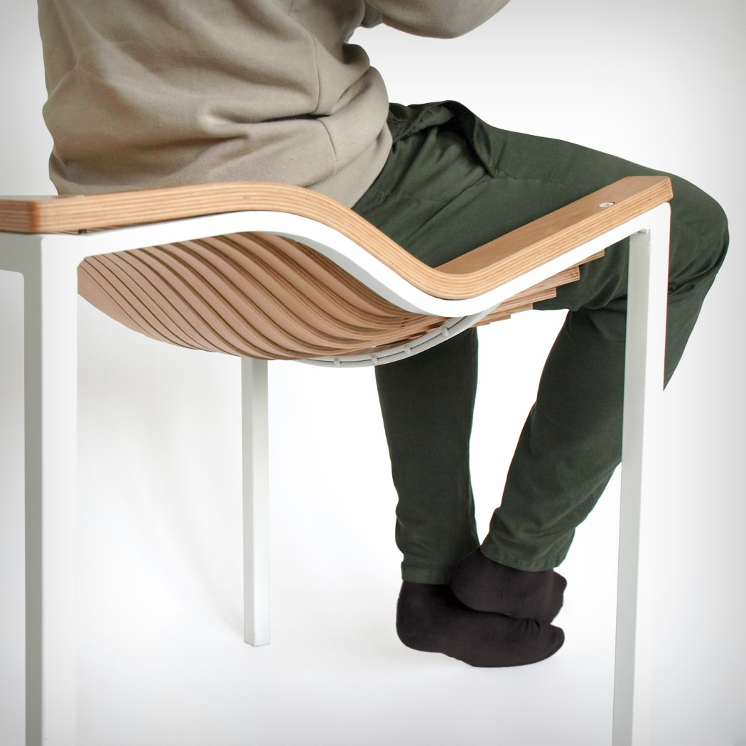 comfy plywood chair