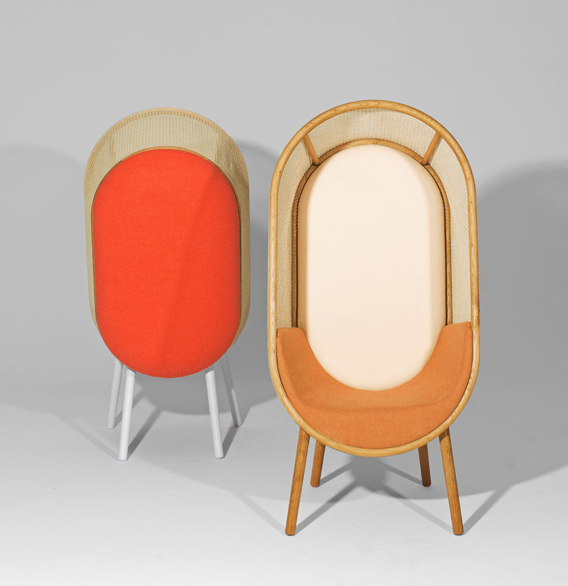 There's an orange and red version for a more colorful or warmer and more muted look
