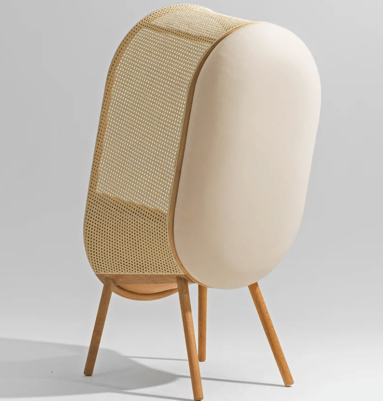 Make a statement and get more privacy with Cocoon chairs
