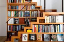 space saving staircase with storage