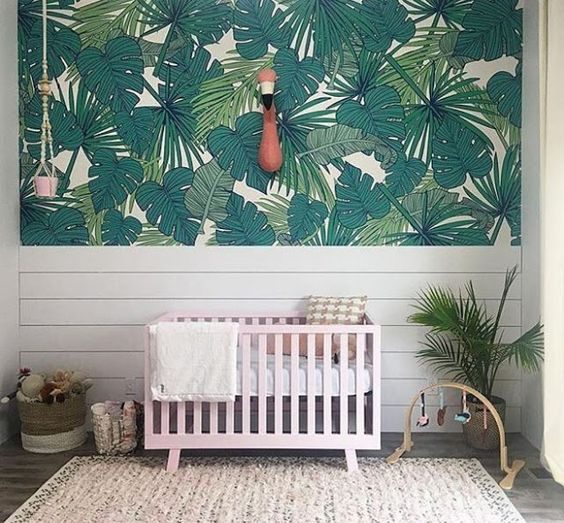 Pull Off Tropical Decor In A Nursery