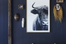 15 too much of dark blue shades can bring a sad feel to any space, be careful