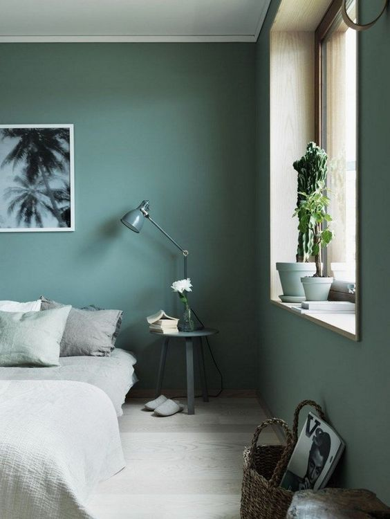 it's very relaxing, especially in its muted shades, so use it for bedrooms