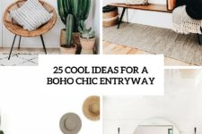 25 cool ideas for a boho chic entryway cover