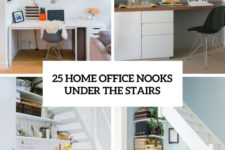 25 home office nooks under the stairs cover