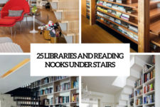 25 libraries and reading nooks under stairs cover