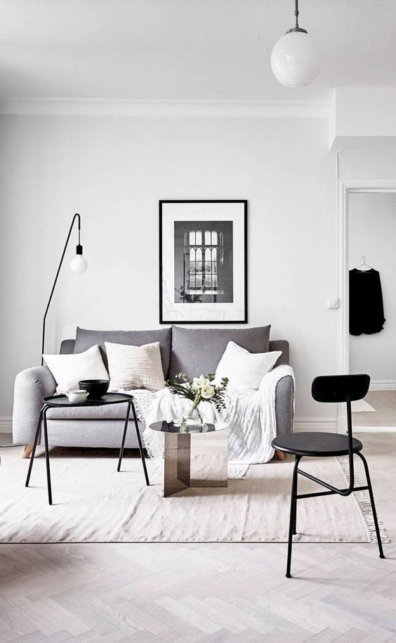 decorating in neutral shades is a timeless solution, they are always in trend