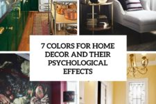 7 colors for home decor and their psycological effects cover