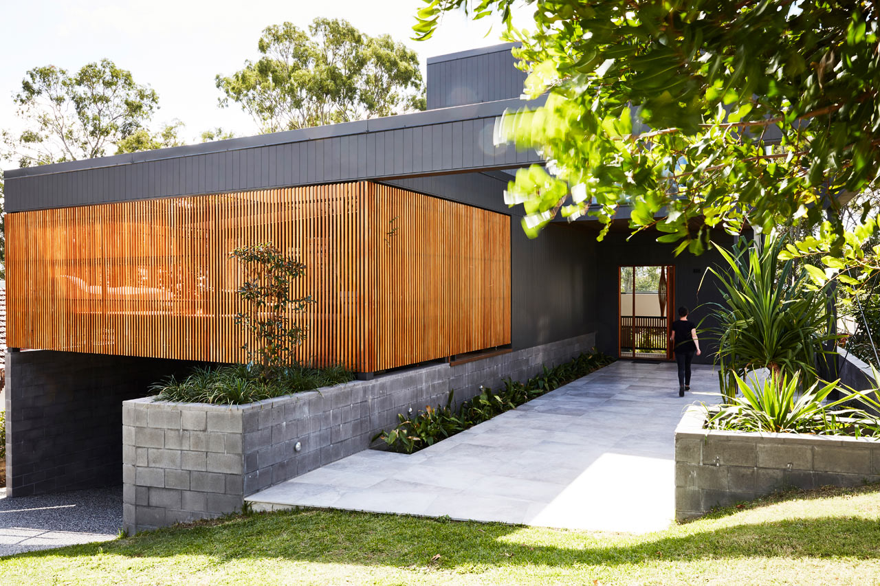 This contemporary house inspires indoor outdoor living and shows how to create a balance in between separation and togetherness for a family
