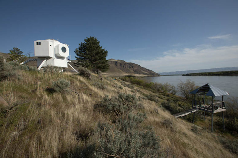 Lunar Lander Inspired Tiny Home For Geeks