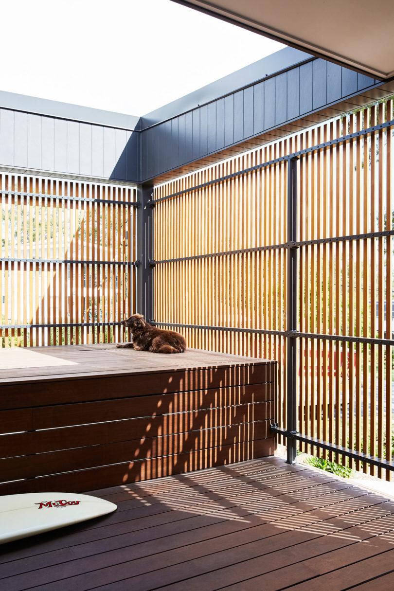 screened patio zone