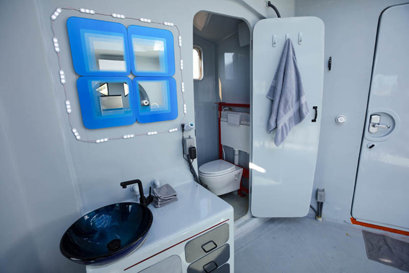 super tiny but functional bathroom