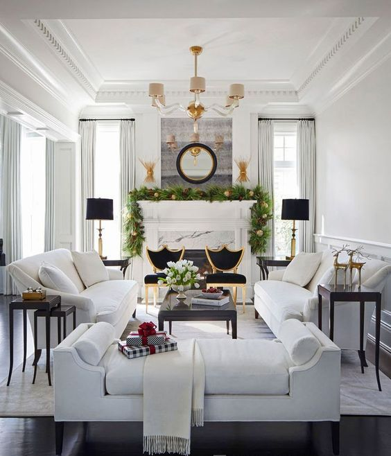 23 Non-Boring White Sofa Ideas For Your Living Room