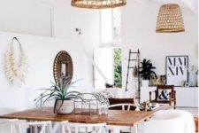 08 wicker lampshades can be added to any lamps your have and immeditely bring a beach feel