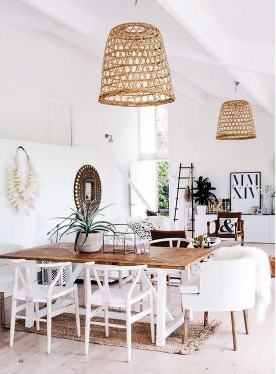 wicker lampshades can be added to any lamps your have and immeditely bring a beach feel