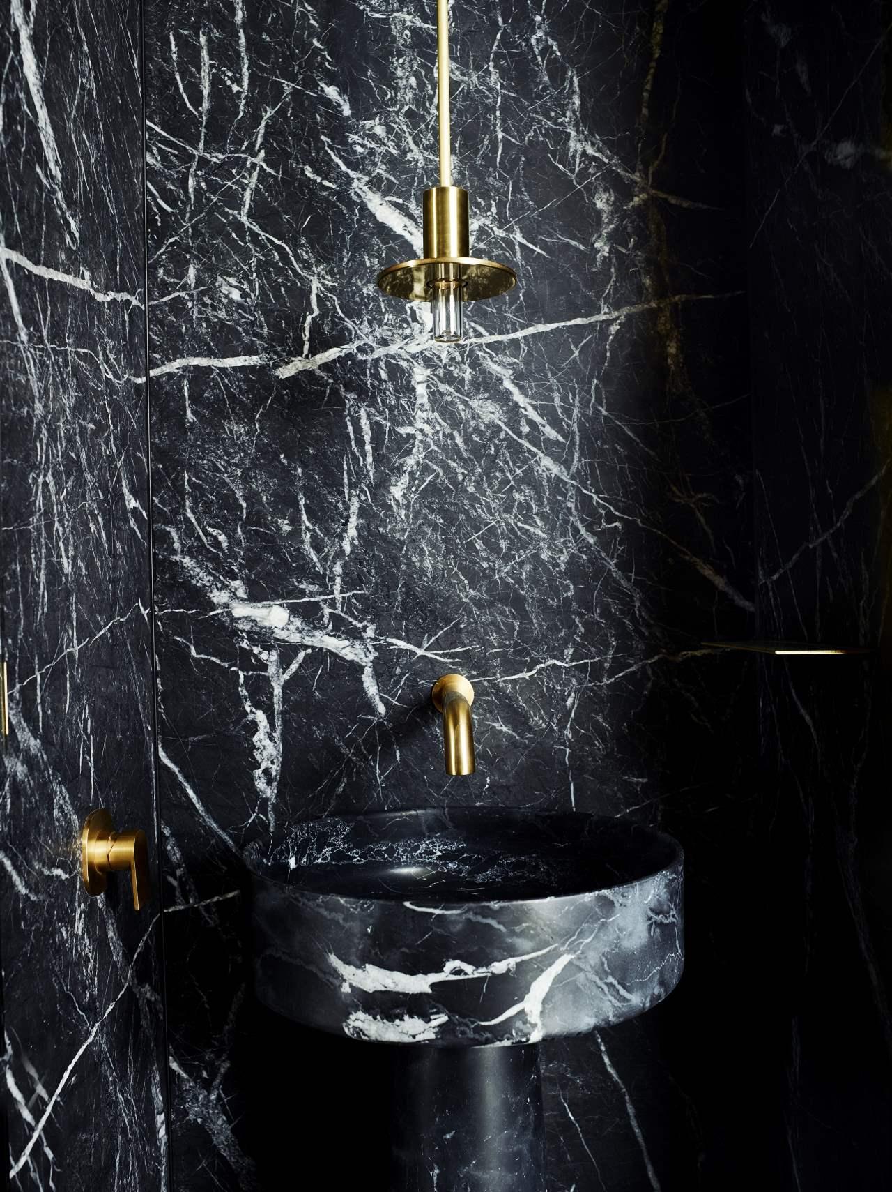 amazing powder room design