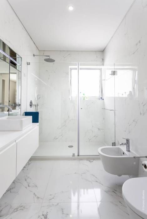 marble is a timeless idea for any bathroom, it brings an instant luxurious feel