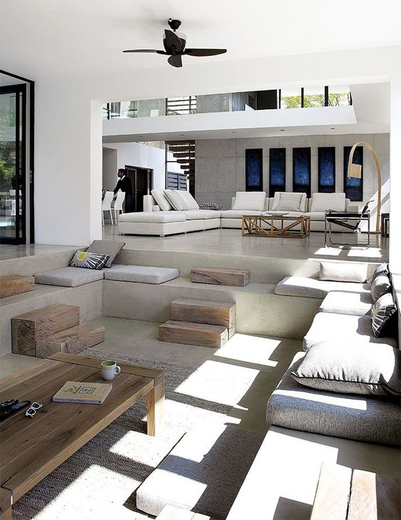 living room that looks like an oasis