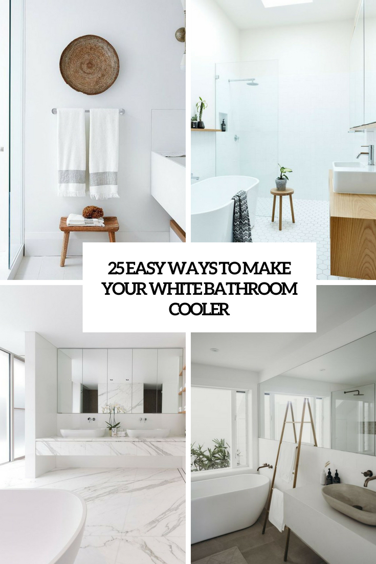 easy ways to make your bathroom cooler cover