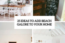 25 ideas to add beach galore to your home cover