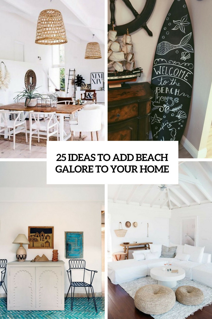 ideas to add beach galore to your home cover