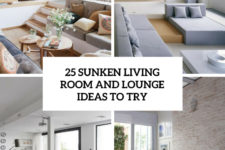 25 sunken living room and lounge ideas to try cover
