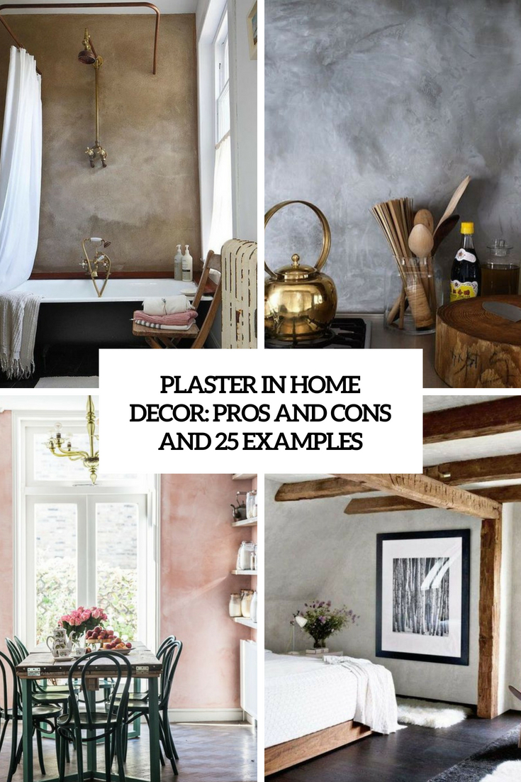 plaster in home decor pros and cons and 25 examples cover