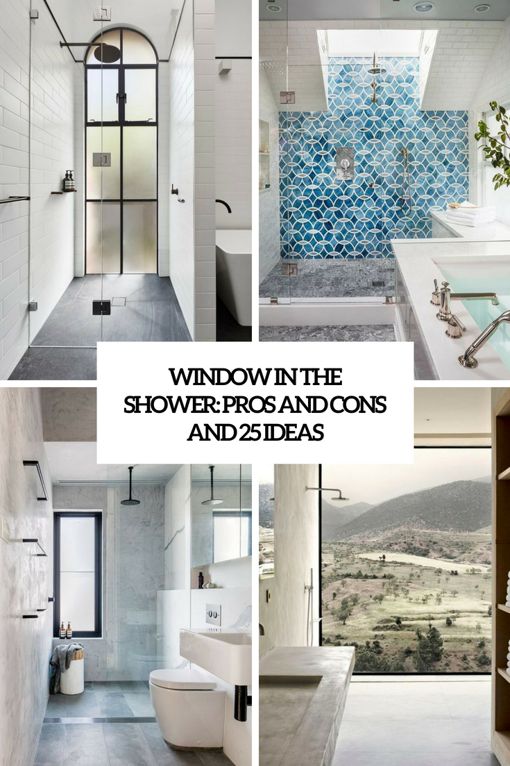 window in the shower pros and cons and 25 ideas cover