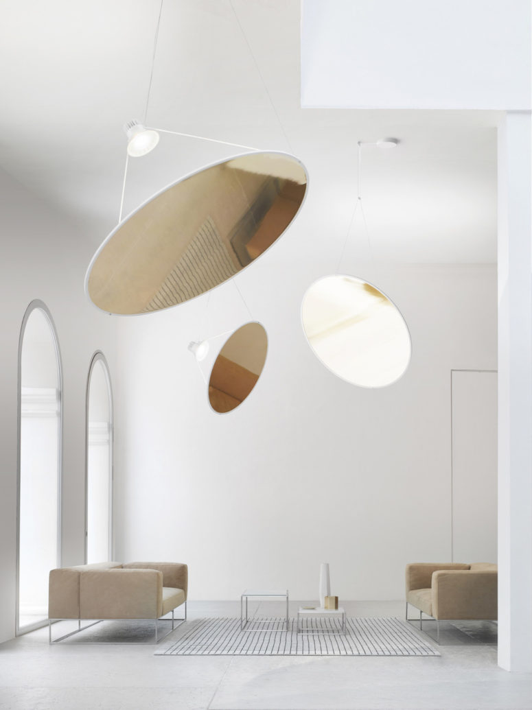 Amisol Pendant Lamp That Doesn't Take Much Space