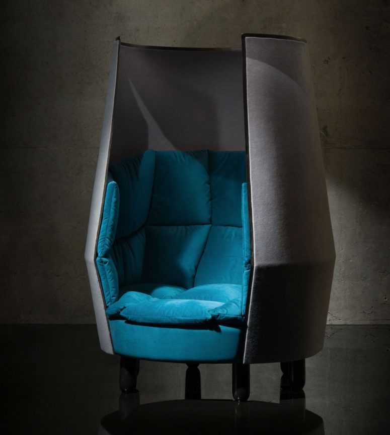 Botan Chair is a gorgeous piece to stay private and secluded anywhere you want