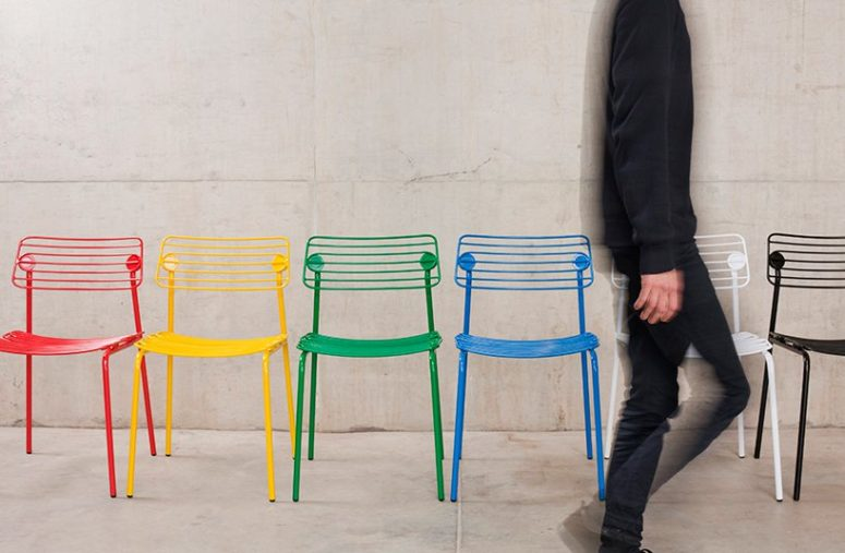 Colorful Hache Chair That Can Be Customized